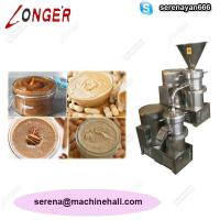 Wholesale High Quality Peanut Paste Making Machine for Sale|Tahini Grinder Machine Price from china suppliers