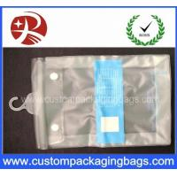 Wholesale Button Closure Hanger Plastic PVC Hook Bags With for Clothes Swimwear Bikini Packaging from china suppliers