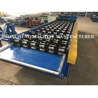 Wholesale Servo Motor Control Roof Sheet Metal Roll Forming Machines With PLC And Inverter Control from china suppliers
