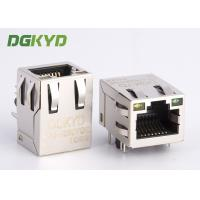 Wholesale Modular jack RJ45 ethernet connector with Lan transformer PCB Mount RJ45 from china suppliers