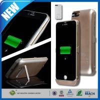 Wholesale Iphone 6 Backup Charger Rechargeable Cell Phone Battery Case Output 4800mah from china suppliers