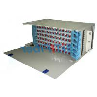 Wholesale 96 Port Patch Panel  SC UPC Simplex Port , Fixed Type ODF Wall Mount Fiber Patch Panel from china suppliers