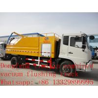 Wholesale Dongfeng tianjin combined vacuum flushing truck for sale from china suppliers