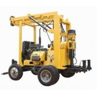 Wholesale trailer-mounted water well drilling rig with high efficiency from china suppliers