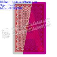 Wholesale XF Royal Pro Poker Jumbo 100% Plastic Playing Cards from china suppliers