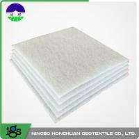 Wholesale High Strength Non Woven Geotextile Fabric For River Bank PET 1000G from china suppliers