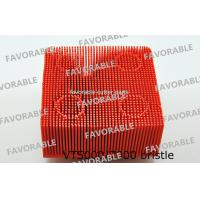 Wholesale Red Nylon Bristle Round Foot Especially Suitable For Lectra Cutter 702583 / Cutting Machine Parts from china suppliers