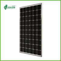 Wholesale Portable 210W 36 Volt Monocrystalline Solar Panels With Silver Frame from china suppliers