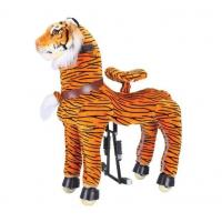 Wholesale Rocking Tiger Amusement Park Equipment Mechanical Pony Kid Ridding On Walking Animal from china suppliers
