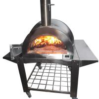 Wholesale Outdoor PIZZA Oven Factory Direct High-Quality Outdoor Stainless Steel Wood Fired Oven for Pizza from china suppliers