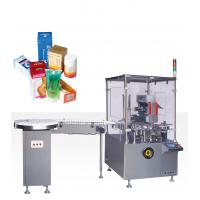 Wholesale 220V 50HZ 0.75kw Vertical Cartoning Equipment With Online Bottle Unscramable And Feeing from china suppliers