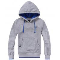 Wholesale M - L - XL Polyfleece Kangaroo Pocket Pullover Hoodie Sweatshirt With Silk Scree Printed from china suppliers