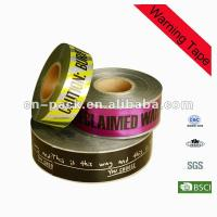 Wholesale 15cm Width PE Safety Barrier Warning Underground Detectable Warning Tape from china suppliers