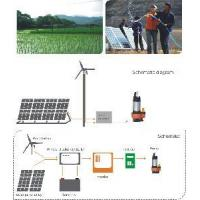 Wholesale Wind-Solar Hybrid Water Pump System for Farm Irrigation from china suppliers