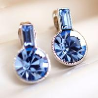 Wholesale Ref No.: 405023 Romantic earrings birthstone earrings for girls Elements Swarovski online shopping high fashion wholesal from china suppliers