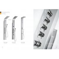Wholesale Multi Function Stainless Steel Shower Panels For Bathrooms / Country Clubs from china suppliers