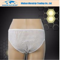 Quality Comfortable Disposable Nonwoven Underwear for Hospital SPA Travelling for sale