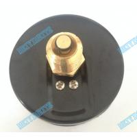Wholesale 80mm Round temperature Pressure gauge with chrome bezel and 1/2 inch brass connector from china suppliers