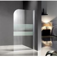 Wholesale Professional Glass Shower Enclosures , bathtub screen with serigraphy painted from china suppliers