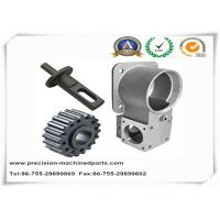 Buy cheap Auto Part Stainless Steel Casting For Mast Clamp Silver / Black OEM from wholesalers