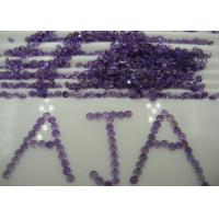 Wholesale Custom Jewelry  Natural Amethyst Stones Purple Round Shape 1.25mm from china suppliers