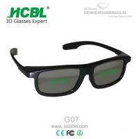 Wholesale ABS Frame Virtual Reality Master Image 3D Glasses For Benq Projectors / MI Movies from china suppliers
