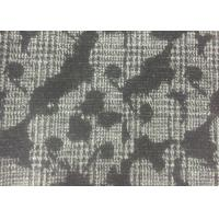 Wholesale Classical Design Flower Jacquard Weave Fabric White And Black Color from china suppliers