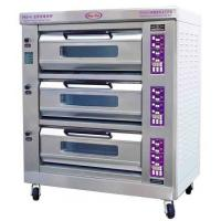 Wholesale Luxury Commercial Pizza Oven With Microcomputer Control 3 Layer 6 Trays from china suppliers