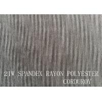 Wholesale 21W  SPANDEX RAYON POLYESTER CORDUROY FOR GARMENT from china suppliers