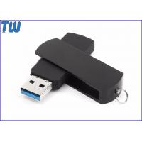 Wholesale Rotating Metal Cover USB 3.0 Flash Drives ABS Body Free Key Ring from china suppliers