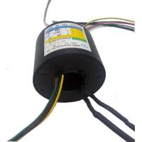 Buy cheap Multi Signals Transmission Rotating Electrical Connector Slip Ring For CCTV IP - Surveillance from wholesalers