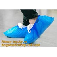 custom waterproof SMS pp non woven medical surgical use Polypropylene Disposable Shoe Cover non skid anti skid bagease