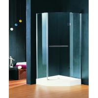 Wholesale 900 X 900 Shower Cubicle Pivot Style Hinged Shower Enclosures With Towel Rack from china suppliers