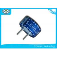 Wholesale Button C Type Farad Super Capacitor Low ESR  Blue 5.5V One Farad Capacitor from china suppliers