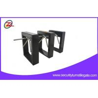 Quality Black Paint Barcode Reader Tripod Turnstile Gate For Pedestrian Control for sale