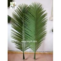 Wholesale UVG PTR044 foxtail artificial coconut tree leaves wholesale in china for roof decoration from china suppliers