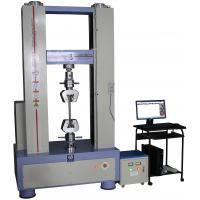 Wholesale Electronic Plastic Testing Machines , Plastic Testing Instruments 300KN Capacity from china suppliers