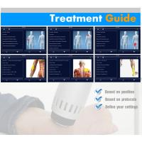 Quality OEM / ODM Low Intensity Extracorporeal Shock Wave Therapy Device With 5 Transimitters for sale