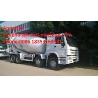 Wholesale EUROII SINOTRUK HOWO ZZ5257GJBM3841W Mobile Mixer Cement Truck LHD 10CBM 290HP Engine from china suppliers