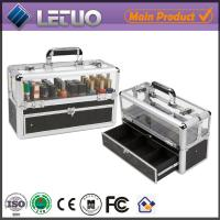 Wholesale aluminum professional nail artist cosmetic case small cosmetic bag vanity case prices from china suppliers