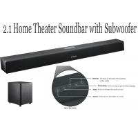 Wholesale 2.1 Channel TV Soundbar With Subwoofer , Speaker Sound Bar For Game / Movie from china suppliers