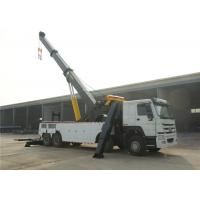 Wholesale 8x4 12 Wheels 371hp Wrecker Tow Truck Heavy Duty 50 Tons Road Recovery Truck from china suppliers