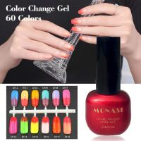 Wholesale Strict Quality Check Nail Uv Gel Supplies Thermal Color Changing Gel Polish from china suppliers