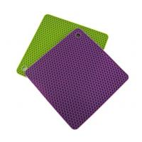 Wholesale Honeycomb style quadrate silicone insulation pad from china suppliers