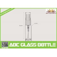 Wholesale 5-15ml Clear Glass Tube Bottle For Sale from china suppliers