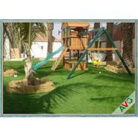 Wholesale Easy Install Outdoor Artificial Grass , Garden Artificial Grass Turf For Dogs from china suppliers
