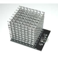 Wholesale 8X8X8 RGB LED Cube Shield (Dimensions: 120×100×90mm  Net weight: 265g ) from china suppliers