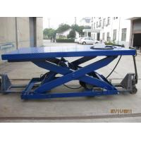 Wholesale Stationary Type Hydraulic Scissor Lift Table , Manual Lift Table With 500 - 5000 Kg Load from china suppliers