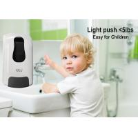 Wholesale Commercial Foam Kid Friendly Soap Dispenser Black  Hand Wash Dispenser from china suppliers