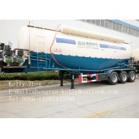 Quality SHENGRUN 70 Ton Bulk Cement Powder Transport Semi Trailer With FUWA Axle for sale